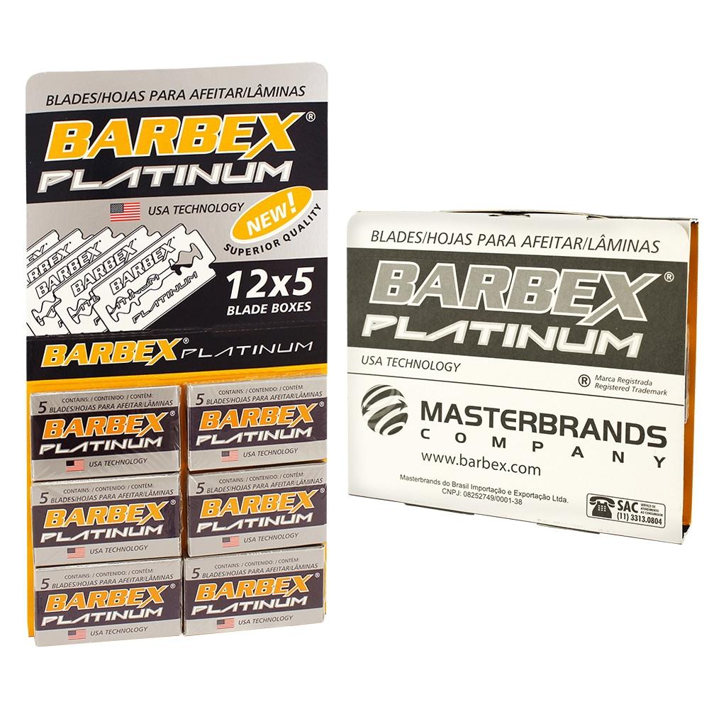 LAMINA BARBEX PLATINUM C/60